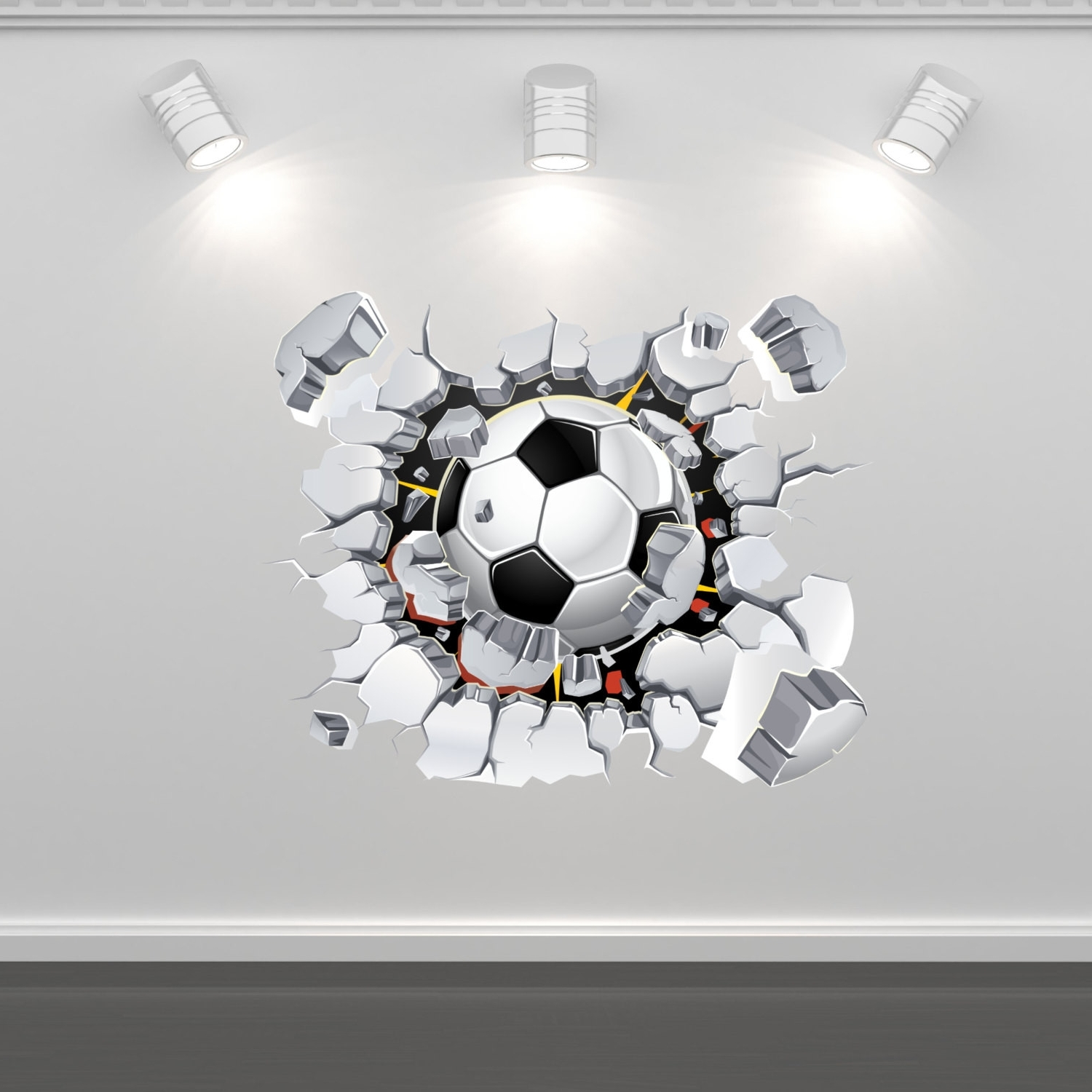 Wall Art Regarding Trendy Soccer Wall Art (View 4 of 15)