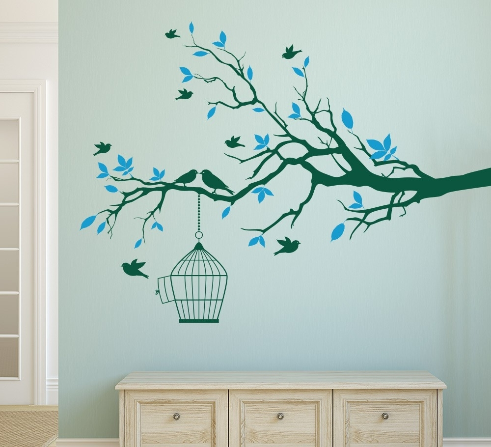 Wall Art Stickers In 2018 Wall Art Stickers Tree Branch Amazing How To Design Wall Art – Wall (View 12 of 15)