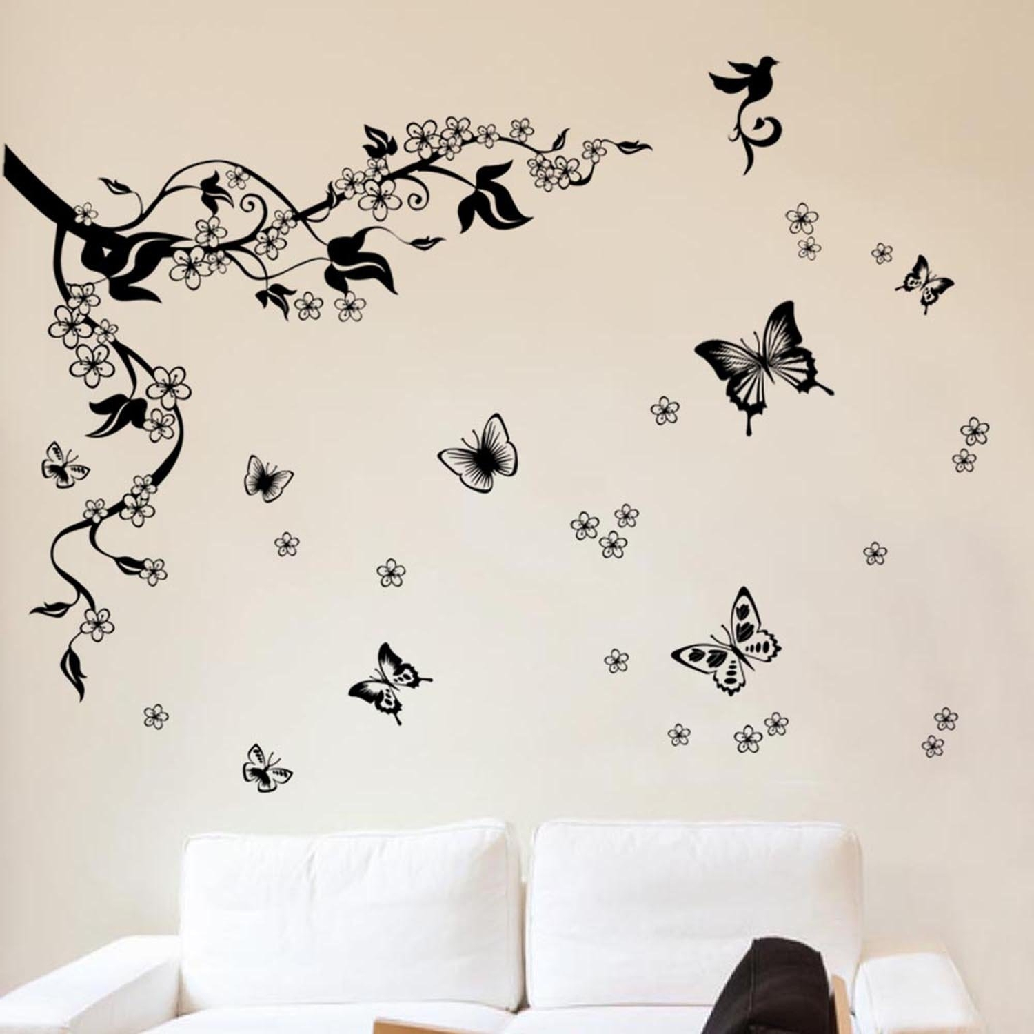Wall Art Stickers With Popular Removable Wall Art Stickers: Amazon.co (View 15 of 15)