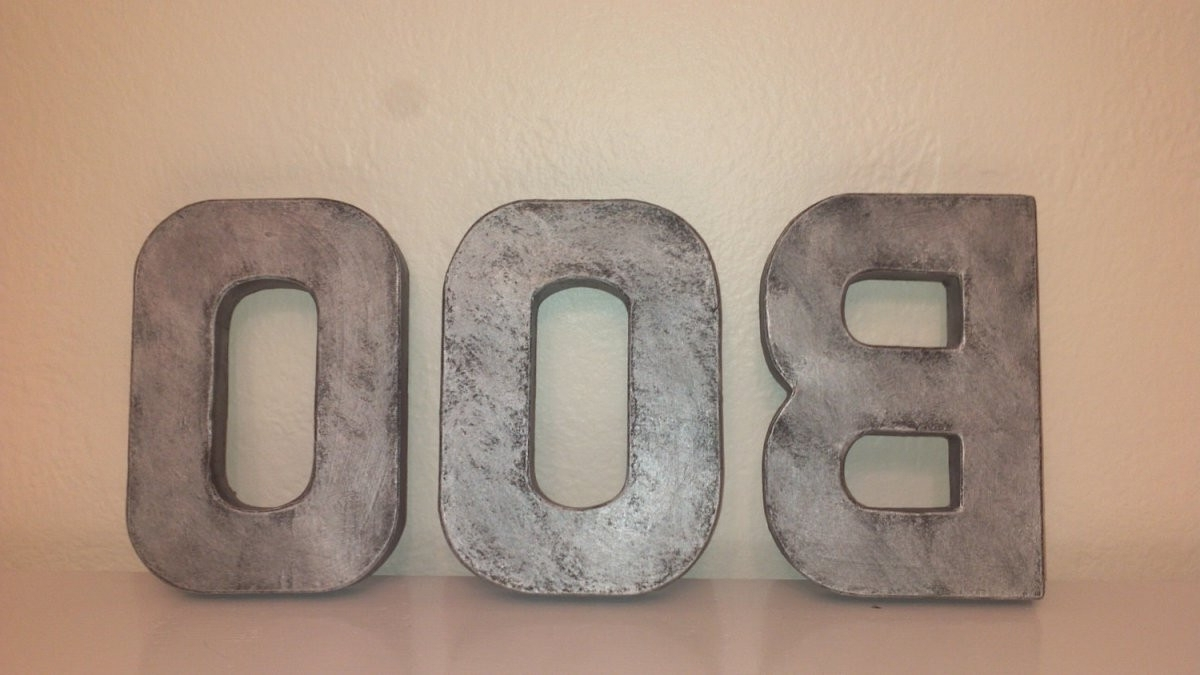 Wall Decor Inspiration In Most Recently Released Metal Letter Wall Art (View 5 of 15)