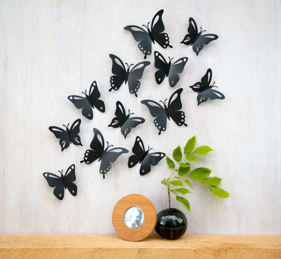 Wall Decor Inspiration Throughout Butterfly Wall Art (View 13 of 15)