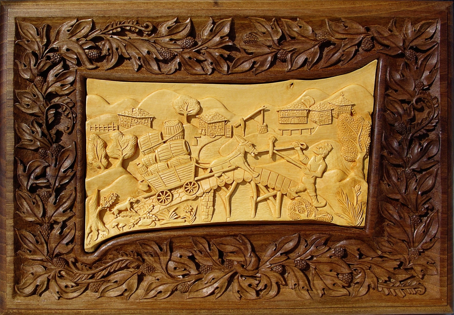 Wall Decor Inspiration Throughout Famous Wood Carved Wall Art (View 9 of 15)
