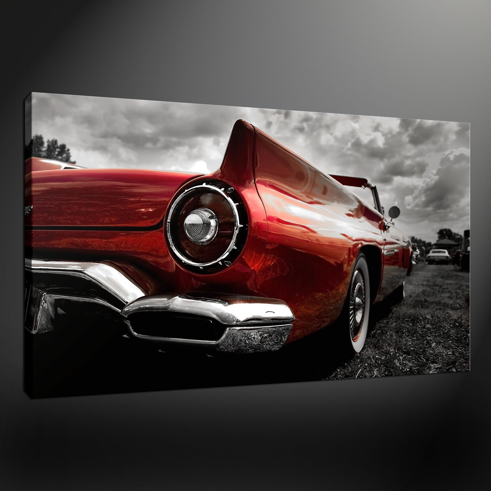 Wall Decorations Intended For Car Canvas Wall Art (View 11 of 15)