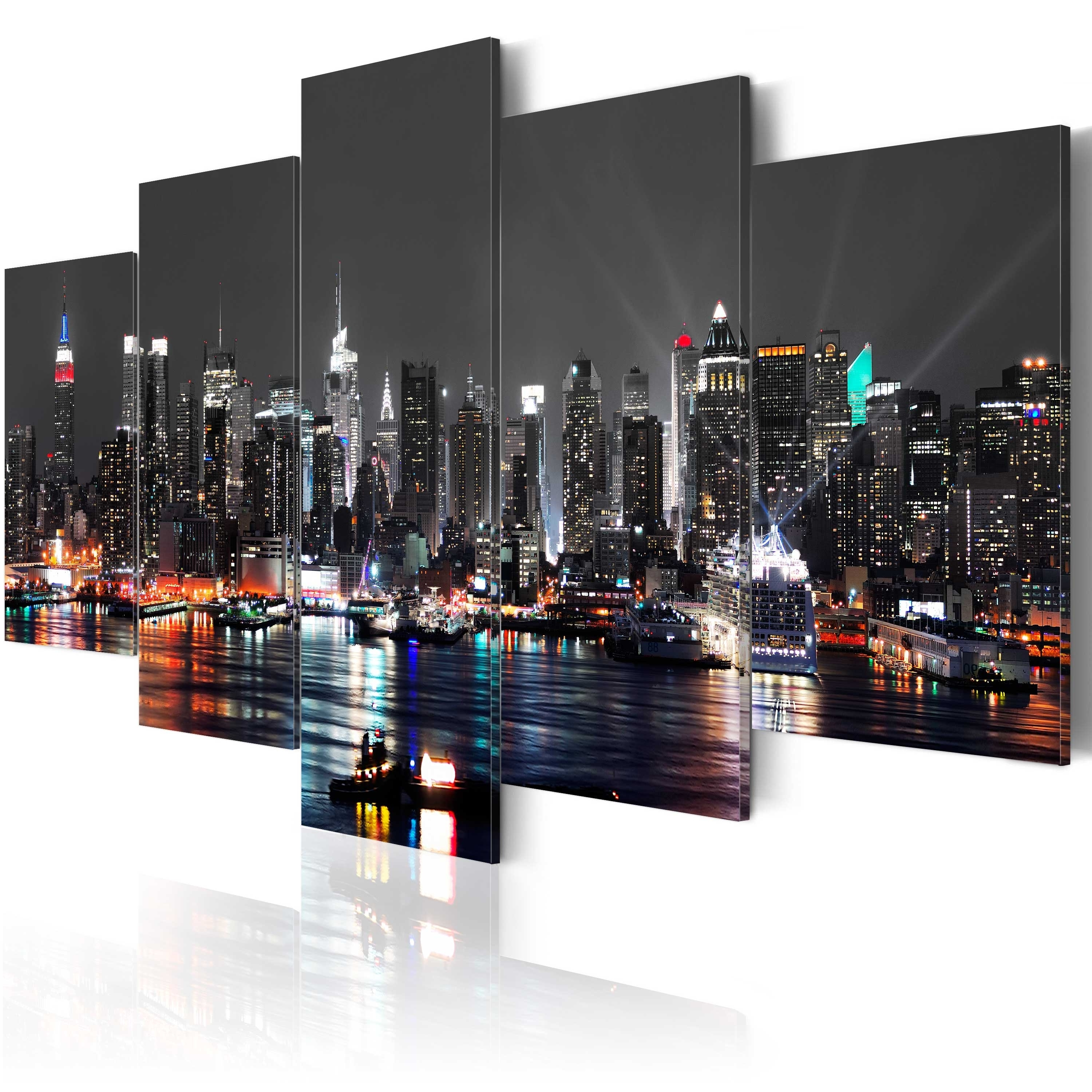 Wall Decorations Intended For Most Recent New York Canvas Wall Art (View 4 of 15)