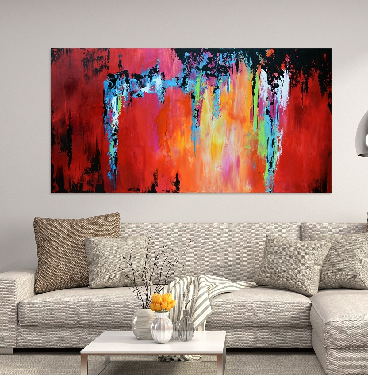 Wall Decorations Pertaining To Most Recent Large Contemporary Wall Art (View 7 of 15)