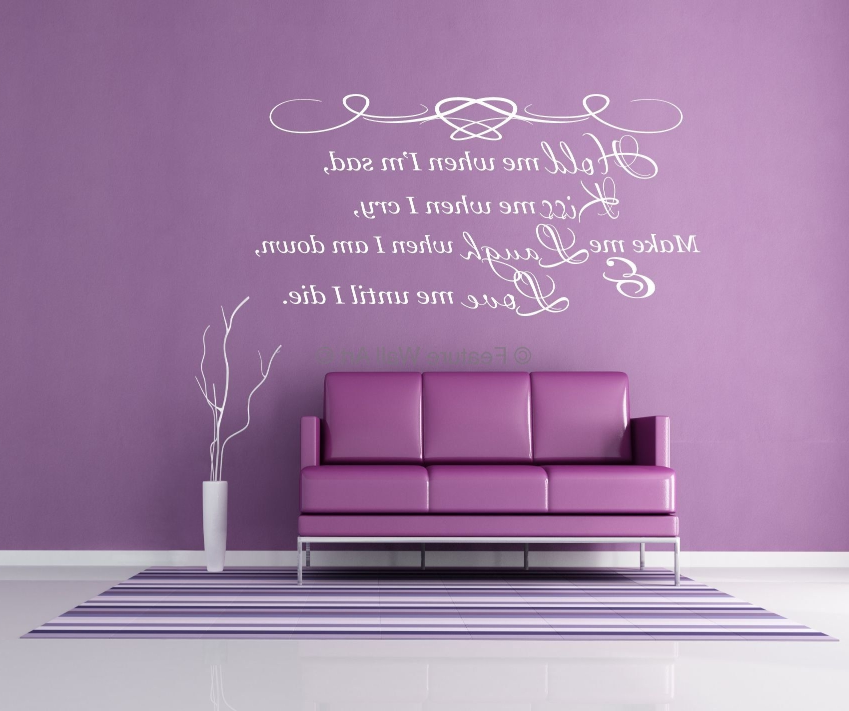 Wall Word Art Idea (View 10 of 15)