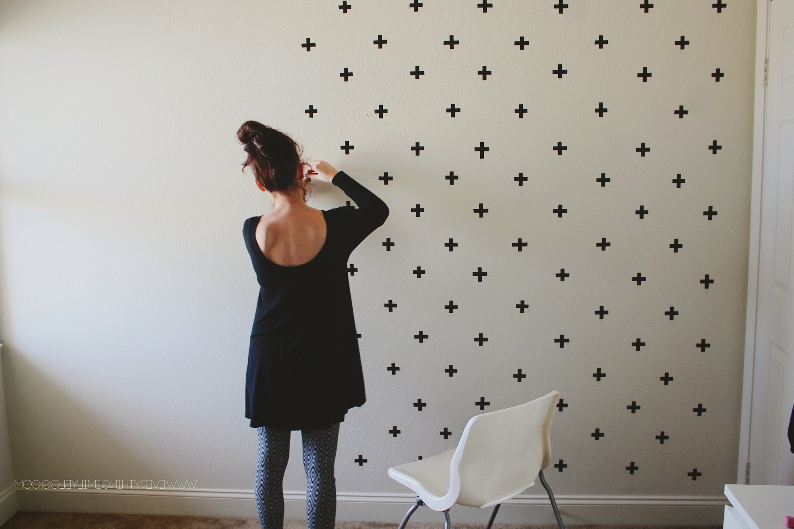 Washi Tape Wall Art Within Well Liked Dorm Room Decor 101: Washi Tape Wall Art – Blinds (View 15 of 15)