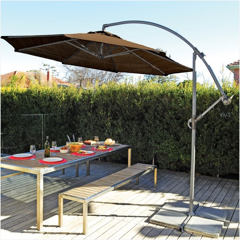 Wayfair Patio Umbrellas Pertaining To Latest Small Cantilever Patio Umbrella Smartly » Elysee Magazine (View 7 of 15)
