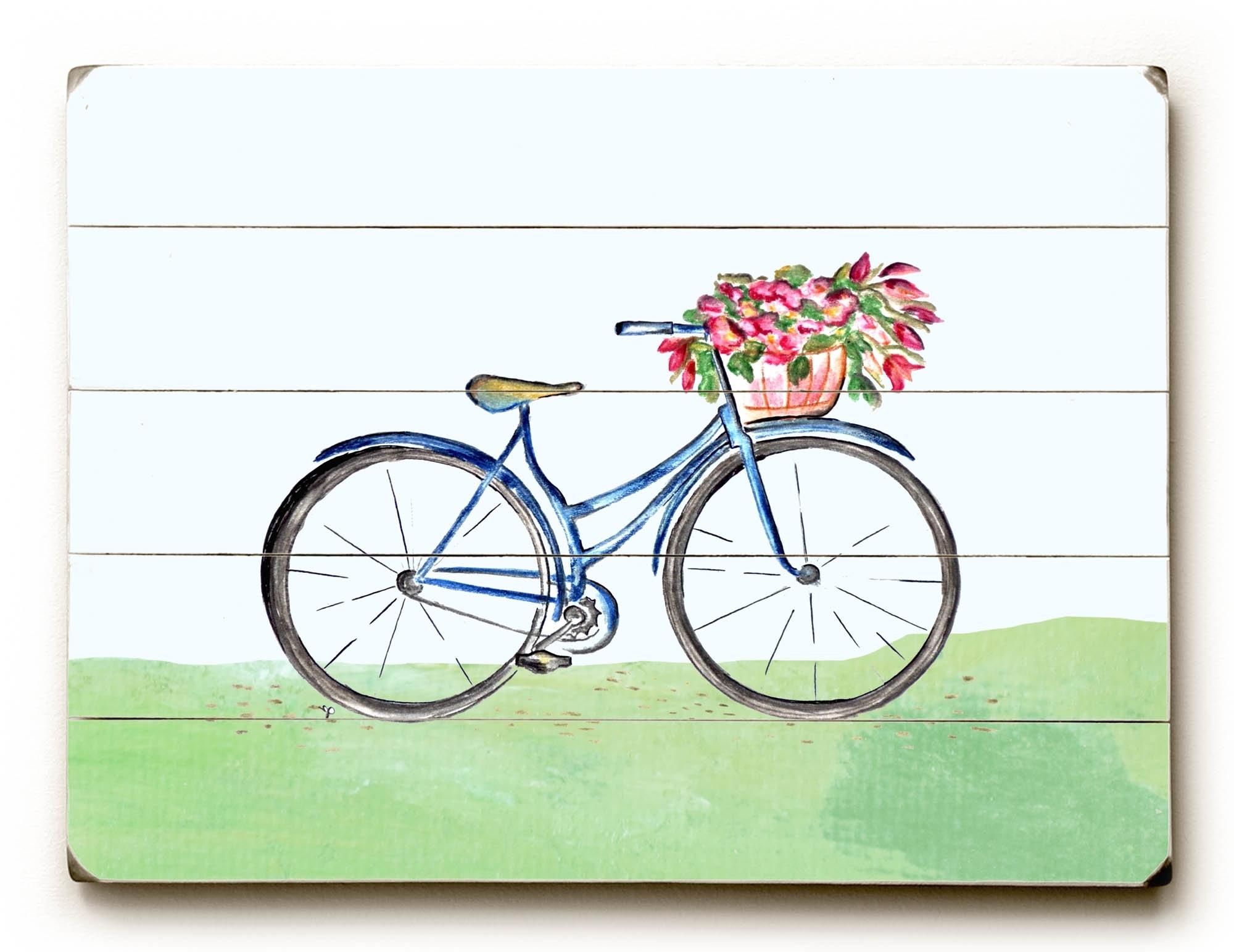 Wayfair Regarding Trendy Bicycle Wall Art (View 5 of 15)