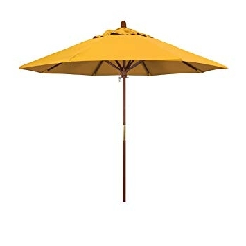 Featured Photo of Yellow Sunbrella Patio Umbrellas
