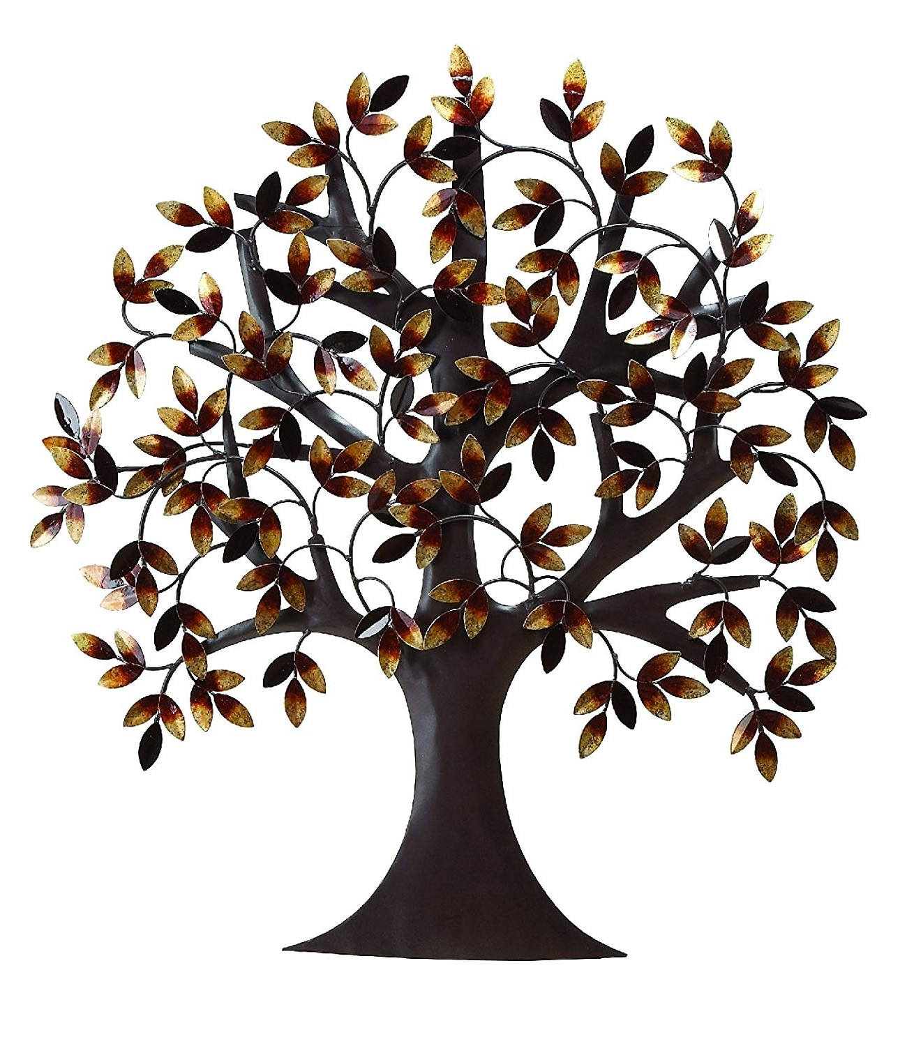"""Well Known Amazon: Deco 79 13862 Metal Tree Wall Decor 32""""h, 31""""w: Home Pertaining To Tree Wall Art (View 5 of 15)"""
