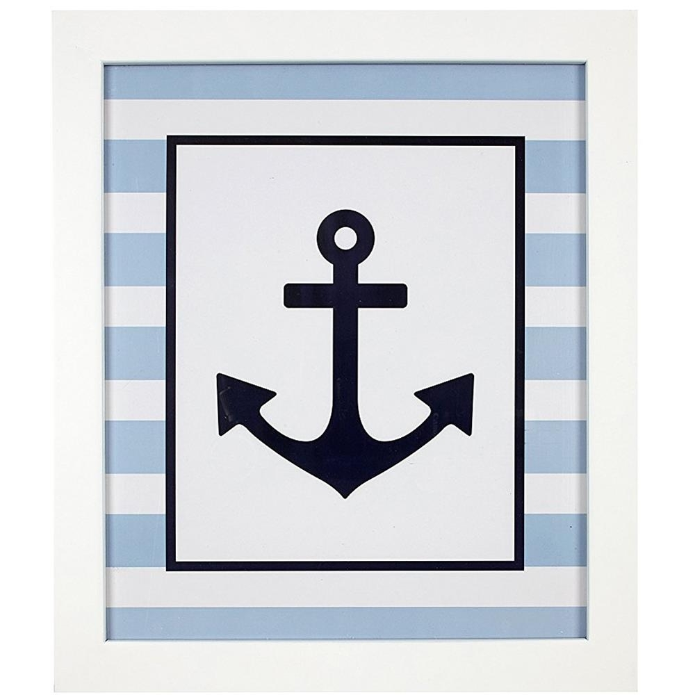 Well Known Anchor Wall Art Intended For Framed Navy Anchor Wall Art (View 13 of 15)