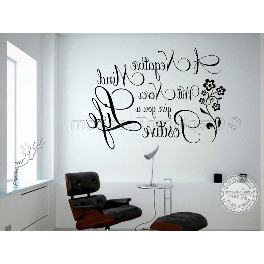 Well Known Buddha Inspirational Quote, Positive Life, Motivational Wall Sticker In Motivational Wall Art (View 15 of 15)