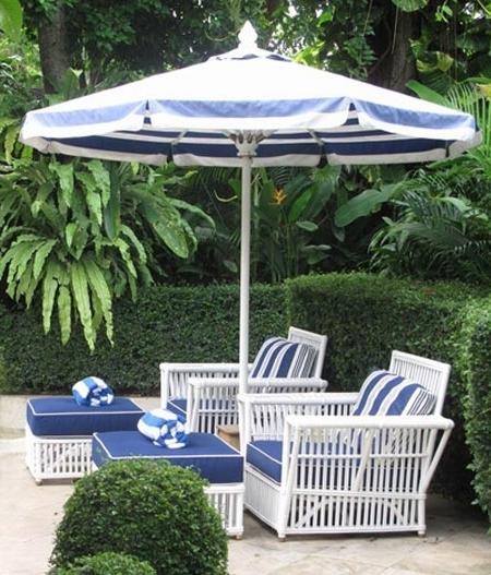 Well Known Design Of Striped Patio Umbrella Best Outdoor Patio Umbrellas A Throughout Striped Patio Umbrellas (View 13 of 15)