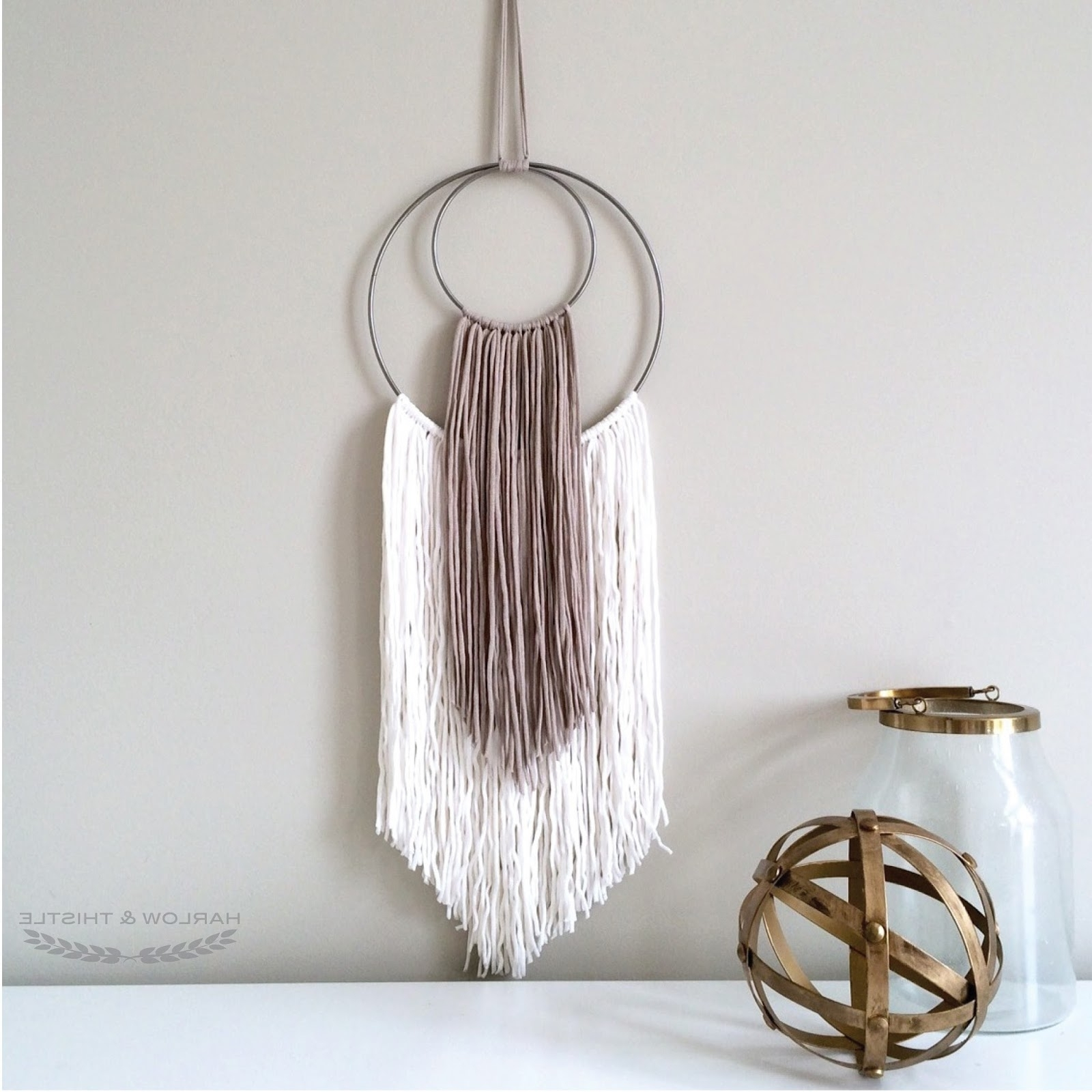 Well Known Diy Yarn Wall Art (View 7 of 15)