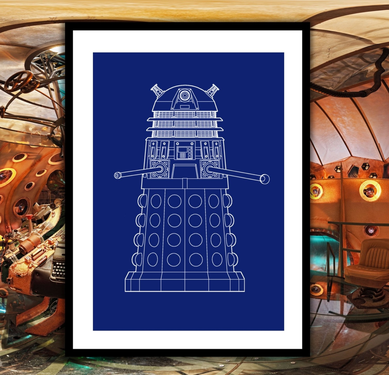 Well Known Doctor Who Dalek Patent, Dr (View 13 of 15)