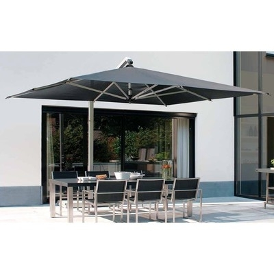 Well Known Fim P Series 11.5' Square Cantilever Patio Umbrella 11.5' X  (View 13 of 15)