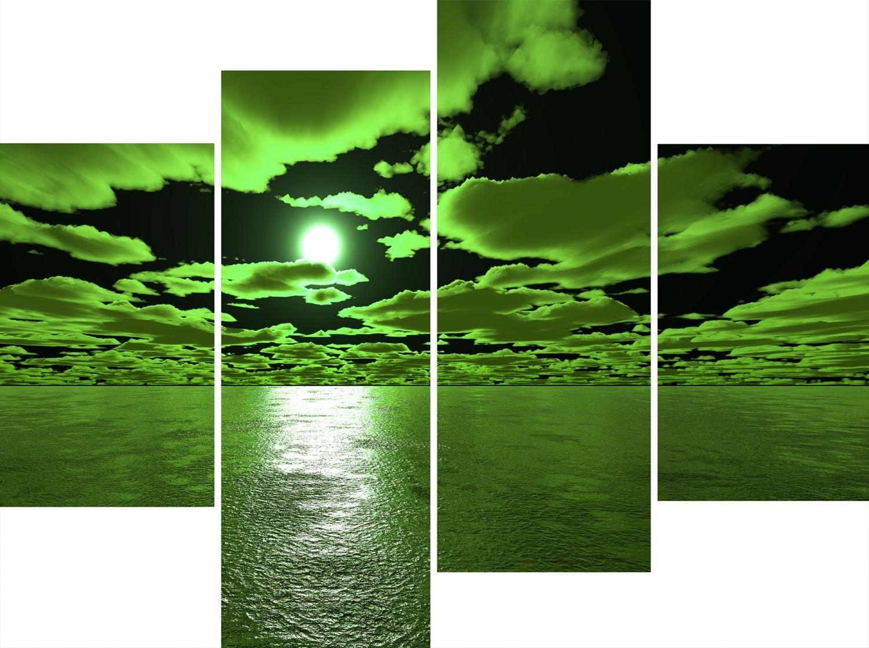 Well Known Green Wall Art Regarding Wall Art For Green Walls – Elitflat (View 10 of 15)