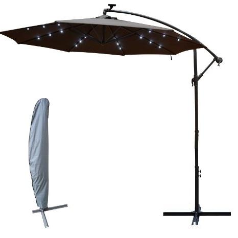 Well Known Hampton Bay Offset Patio Umbrellas With Cheap Solar Offset Umbrella, Find Solar Offset Umbrella Deals On (View 10 of 15)