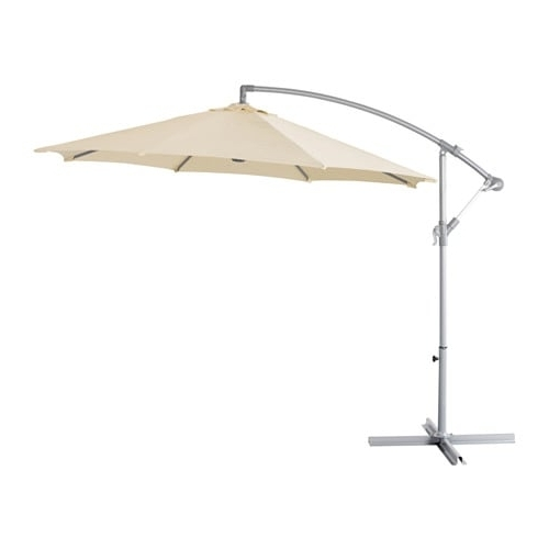 Well Known Karlsö Offset Patio Umbrella – Beige – Ikea Pertaining To Ikea Patio Umbrellas (View 14 of 15)