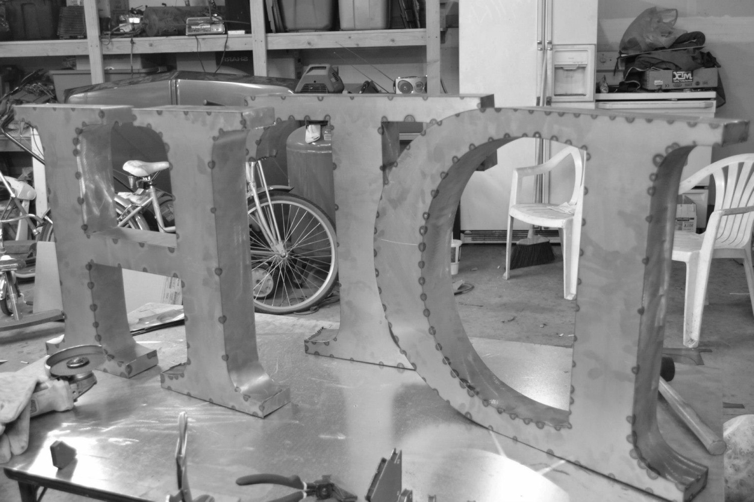 Well Known Large Letter Large Letters For Wall Decor With Diy Wall Decor Within Metal Letter Wall Art (View 13 of 15)