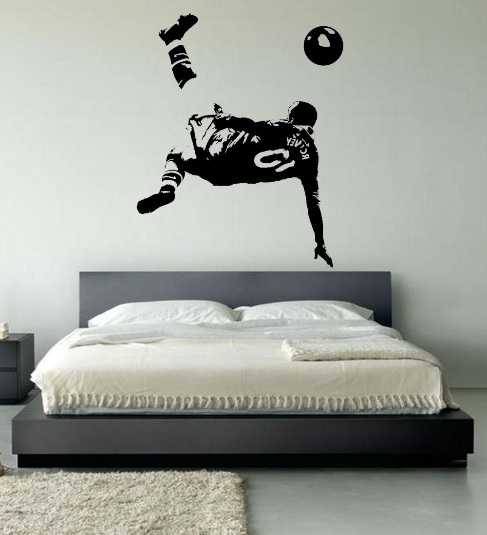 Well Known Large Wayne Rooney Wall Art Bedroom Footballer Football Soccer With Soccer Wall Art (View 12 of 15)