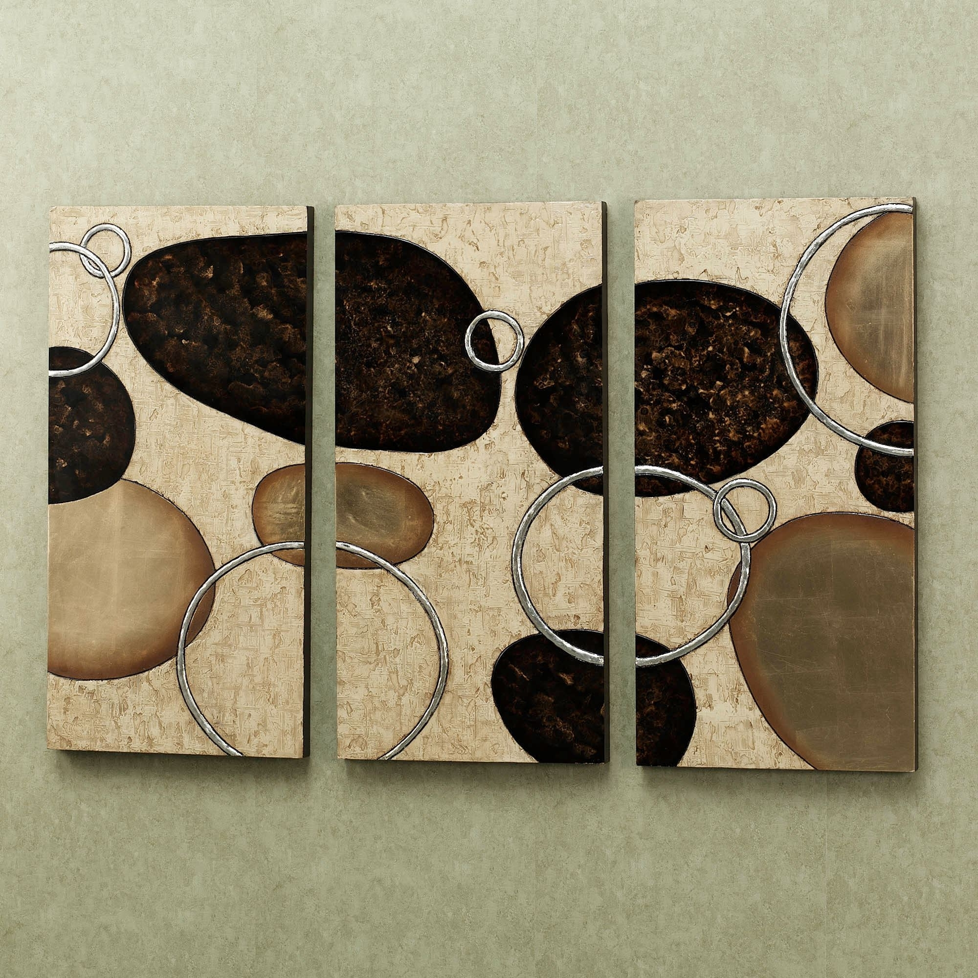 Well-known Levitate Triptych Wall Art Set intended for Triptych Wall Art