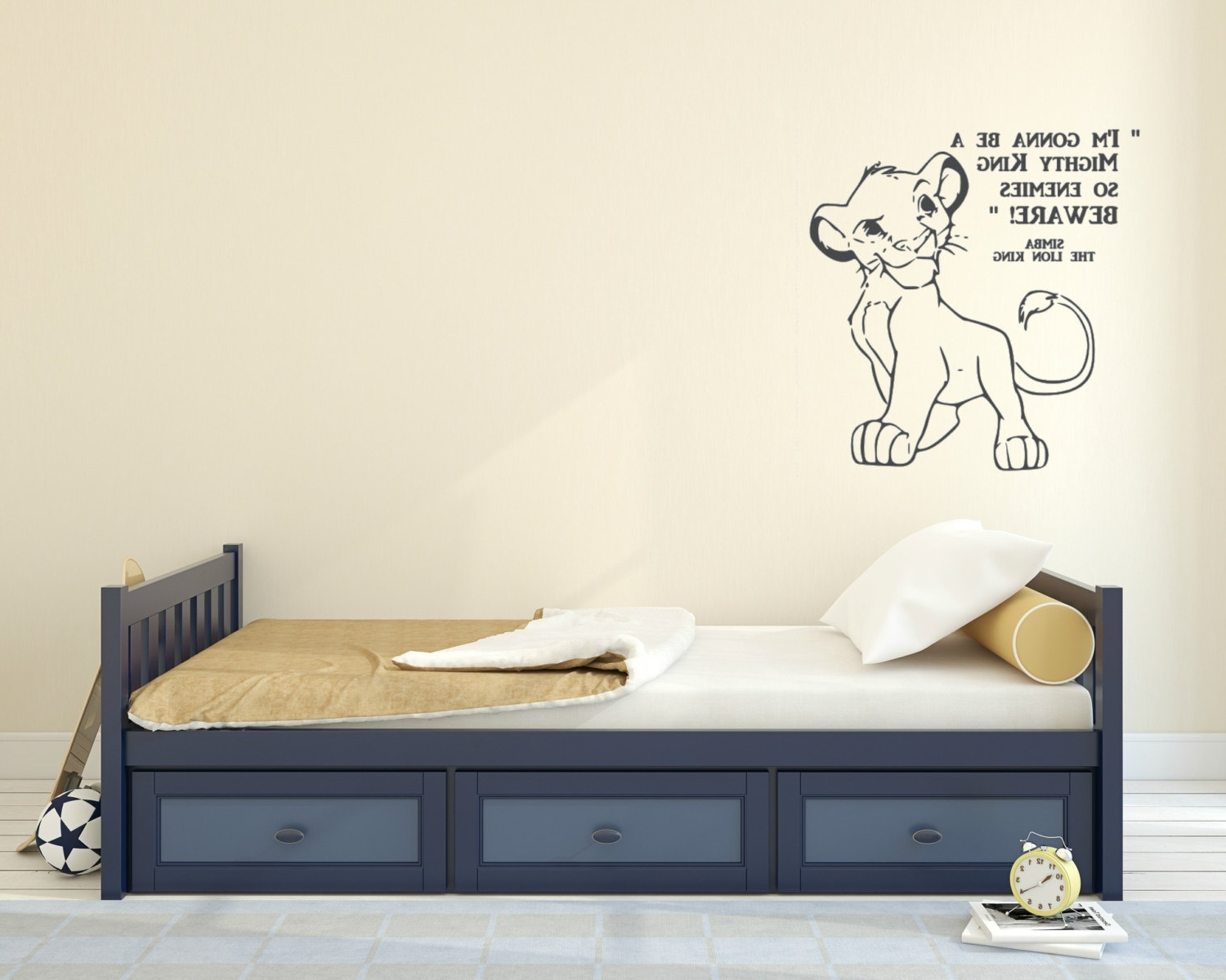 Well Known Lion King Wall Art For Im Gonna Be A Fancy Lion King Wall Decals – Wall Decoration Ideas (View 3 of 15)