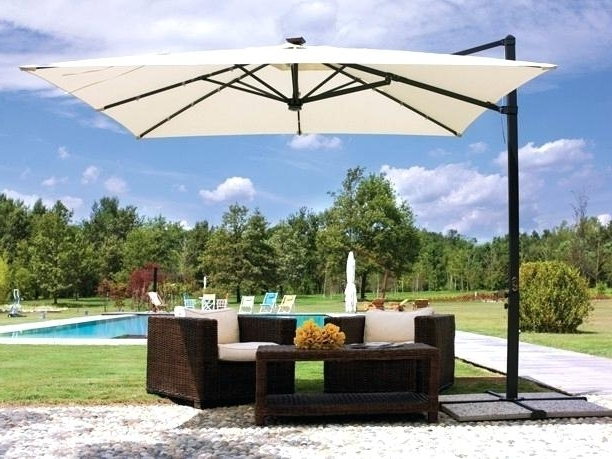 Well Known Lovely Solar Powered Patio Umbrella Or Guide Has Your Solar Patio In Patio Umbrellas With Fans (View 13 of 15)