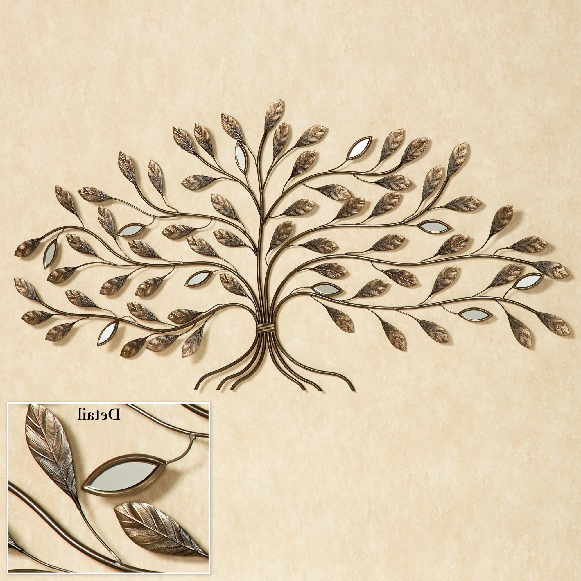 Well Known Marielle Tree Metal Wall Art Throughout Metal Tree Wall Art (View 10 of 15)