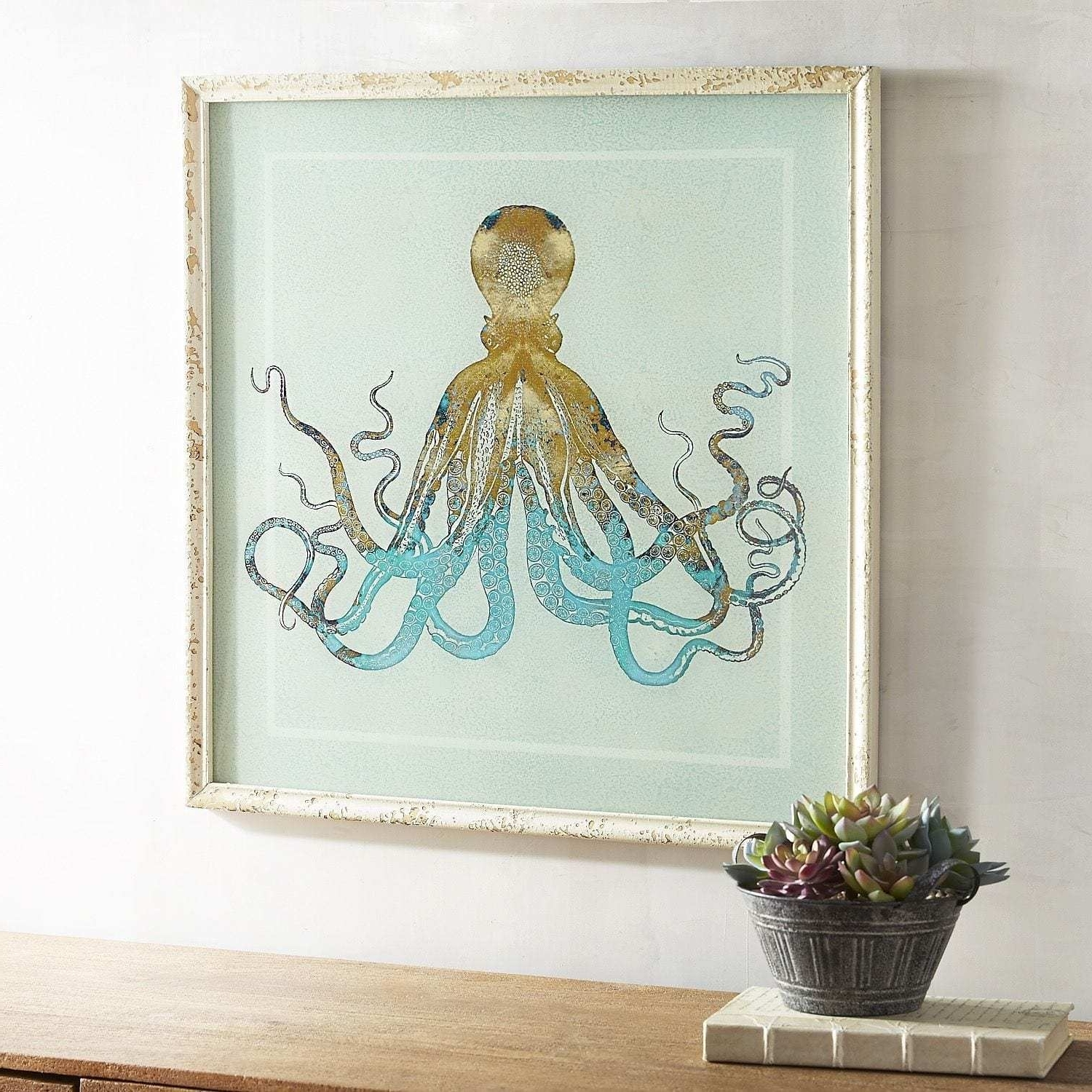 Well Known Marvelous Octopus Wall Art Pier Imports Image Of One Decor Concept Regarding Octopus Wall Art (View 14 of 15)