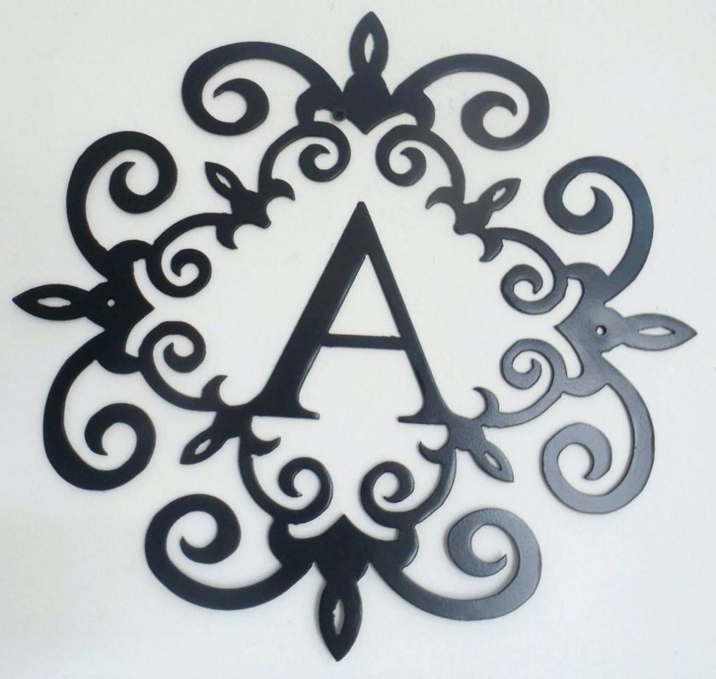 Featured Photo of Metal Scroll Wall Art