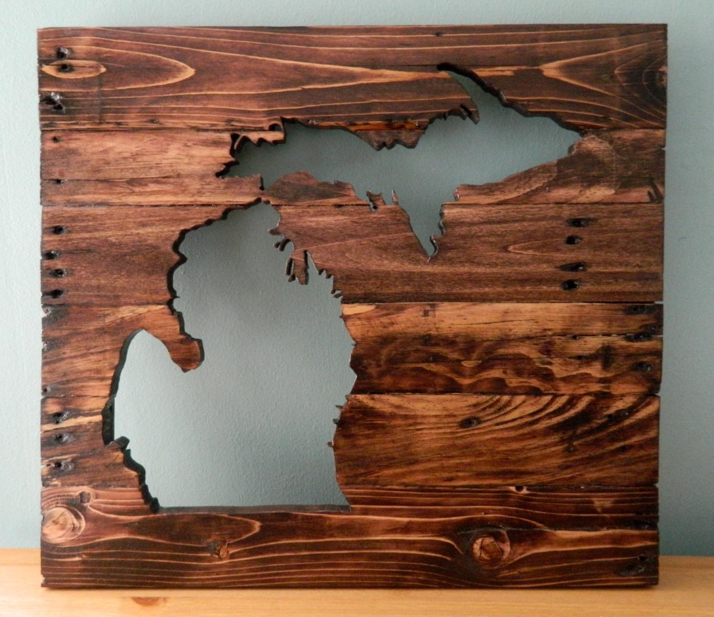 Well Known Michigan Wall Art Throughout Michigan Wall Art – Elitflat (View 4 of 15)