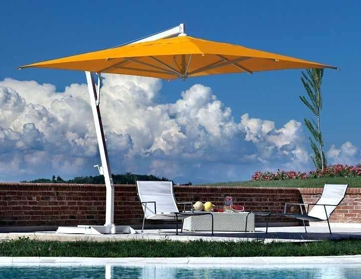Well Known Offset Cantilever Patio Umbrellas With Large Cantilever Patio Umbrellas Fim Umbrella Alluring Amazing (View 12 of 15)