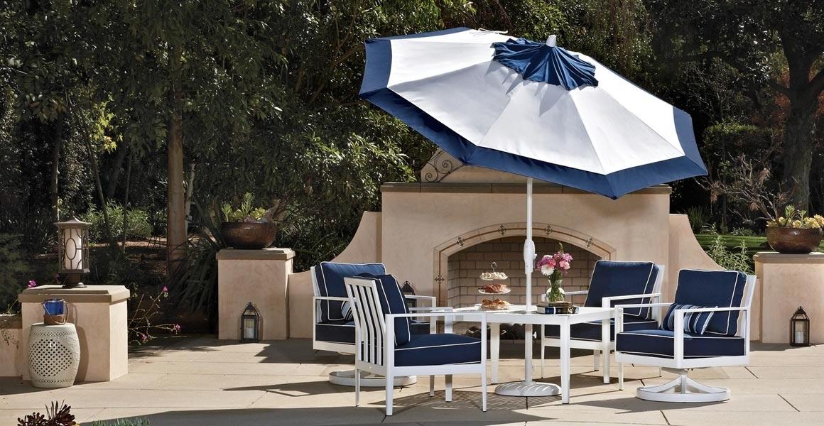 Well Known Outdoor Patio Umbrellas – Treasure Garden In Outdoor Patio Umbrellas (View 15 of 15)