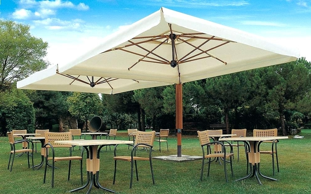 Well Known Patio Umbrellas With Fans With Regard To Outdoor Umbrella Stand Holder Outdoor Umbrella Stand Holder Stand (View 14 of 15)