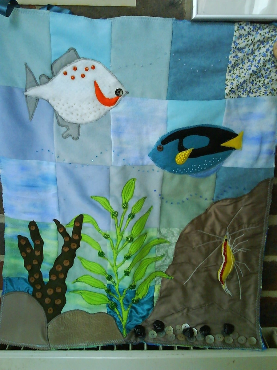 Well Known Sea Life Wall Art Inside Marine Life Wall Hangingstratesphericsoul On Deviantart (View 12 of 15)