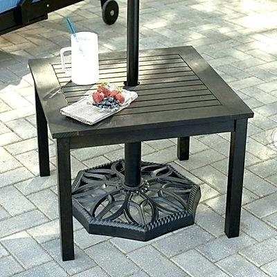 Well Known Small Patio Set With Umbrella – Dx2Websites Within Small Patio Tables With Umbrellas (View 13 of 15)