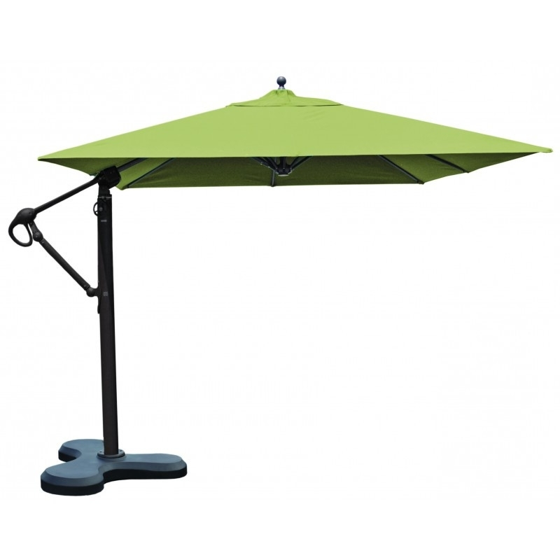 Well Known Square Cantilever Patio Umbrellas Within Square Cantilever Patio Umbrella Outdoor Umbrellas 10×10 Square (View 5 of 15)