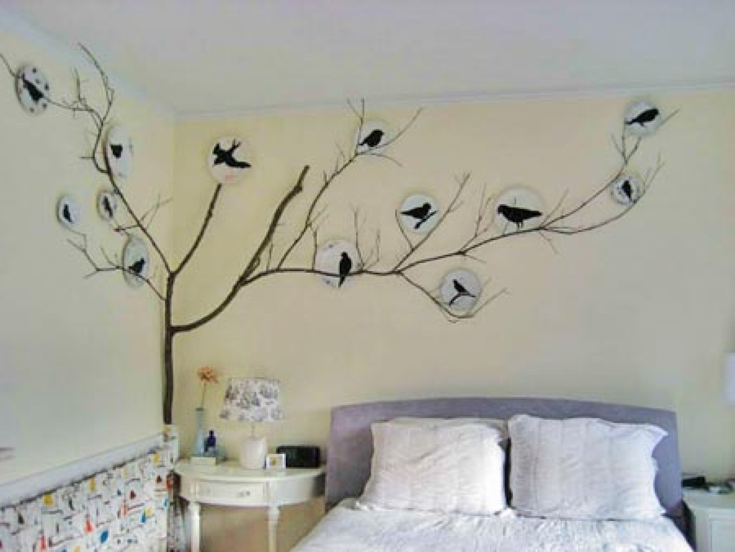 Well Known Stencil Wall Art Regarding Beauteous Bedroom Wall Art Bedroom Wall Art Home Furniture Ideas To (View 6 of 15)