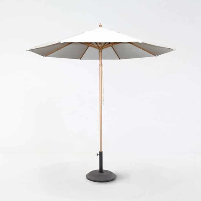 Featured Photo of Sunbrella Teak Umbrellas