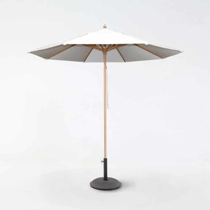 Featured Photo of Sunbrella Teak Umbrellas