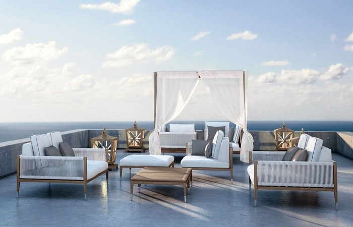 Well Known Upscale Patio Umbrellas Intended For Luxury Outdoor Patio Furniture Home Decor Manufacturers Upscale (View 4 of 15)