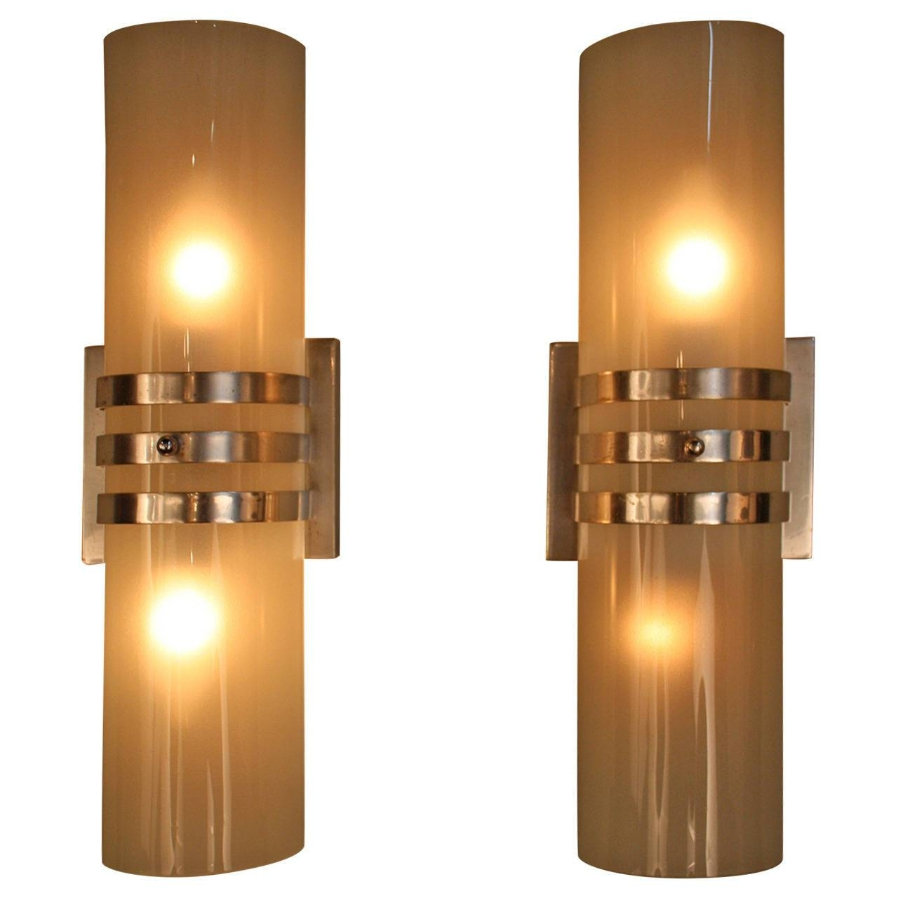 Well Known Wall Art Designs: Bathroom Art Deco Wall Sconces Light, Art Deco Regarding Art Deco Wall Sconces (View 14 of 15)