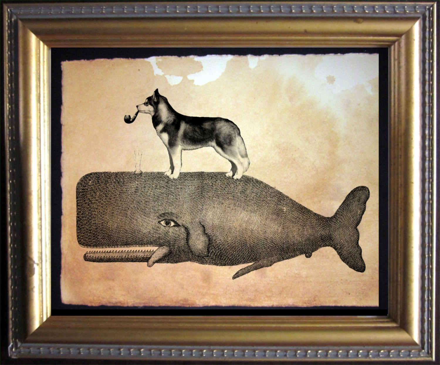 Well Known Wall Art Ideas Design : Whale Antique Wall Art Wolf On Top Simple Regarding Vintage Wall Art (View 9 of 15)