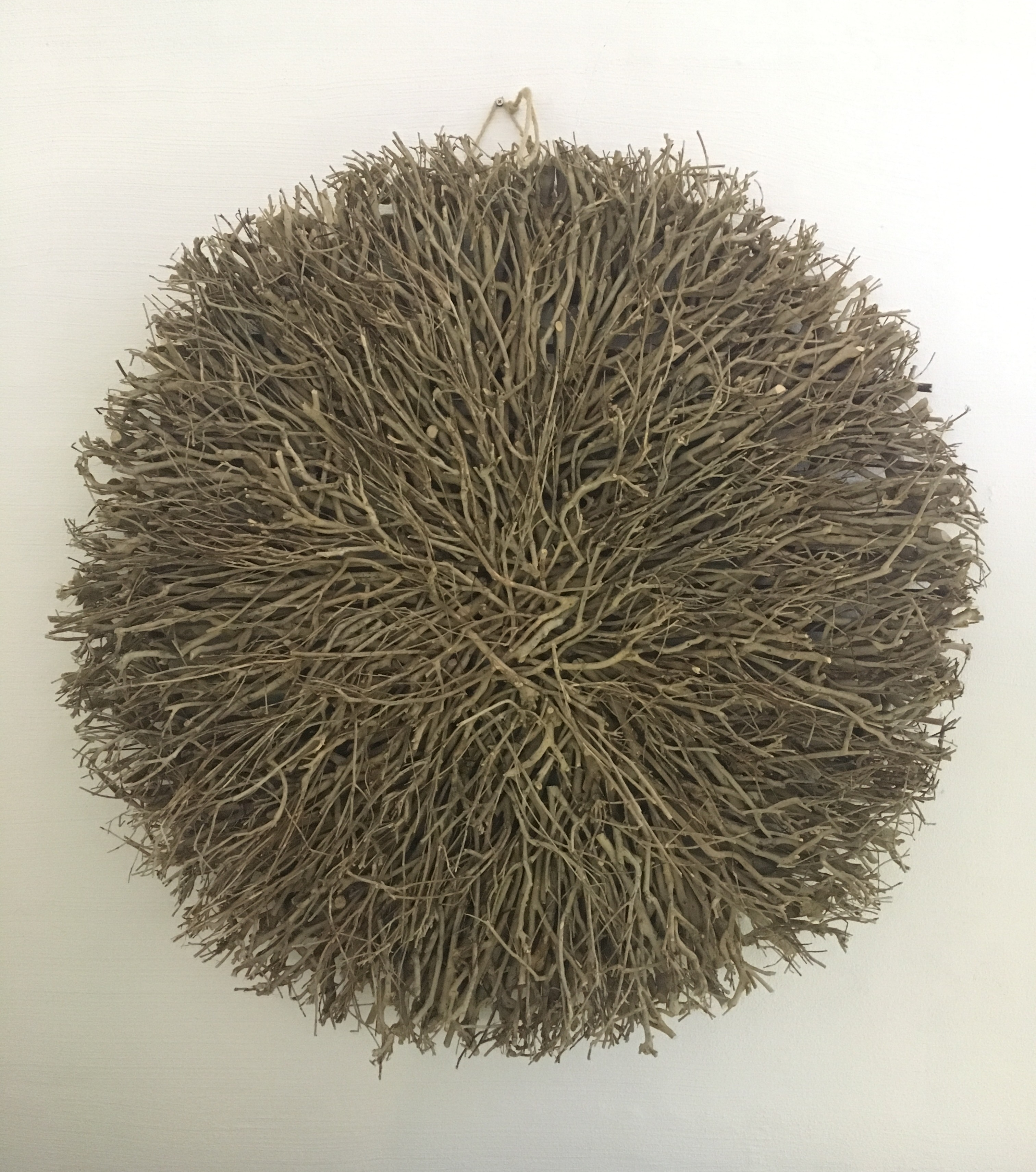 Well Known Wall Decor – Twig Large Round Natural – Daydream Leisure Furniture Within Round Wall Art (View 7 of 15)