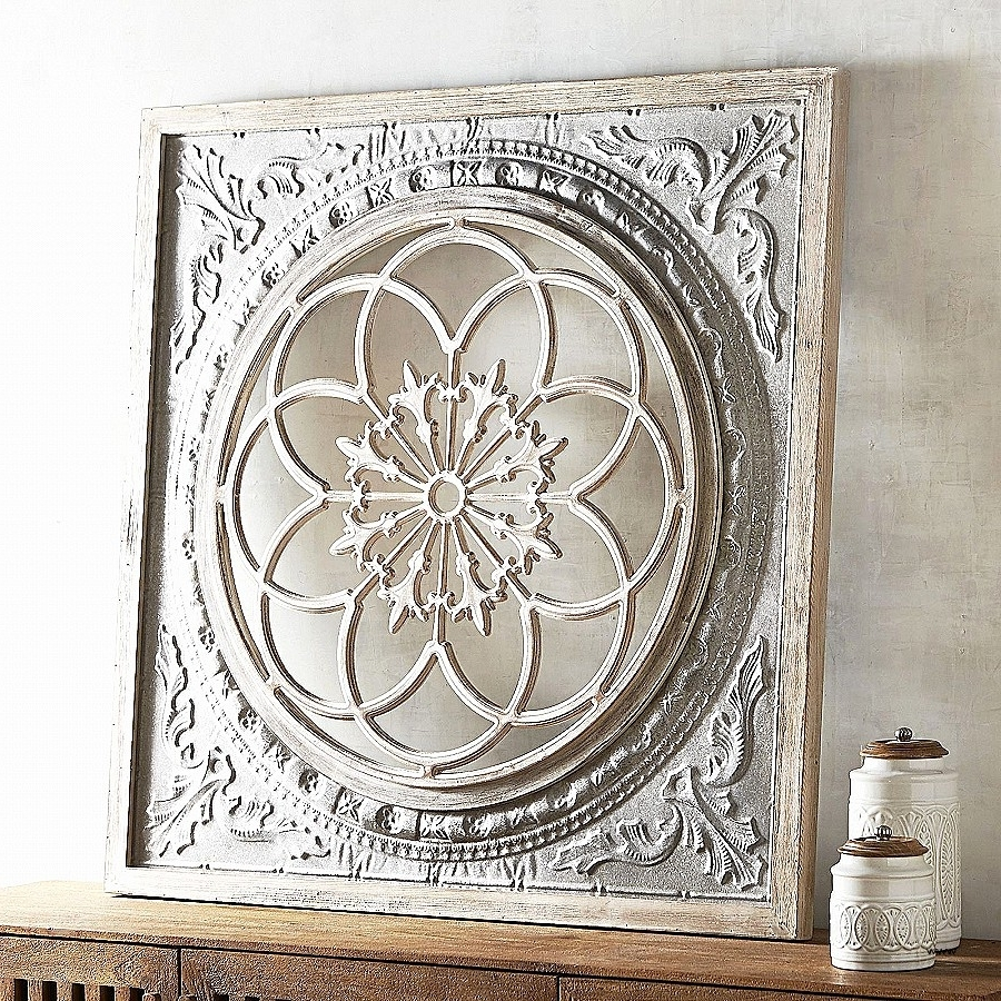 Well Known Wood Medallion Wall Art In Wall Art: Elegant Outdoor Medallion Wall A ~ Robotsgonebad (View 5 of 15)