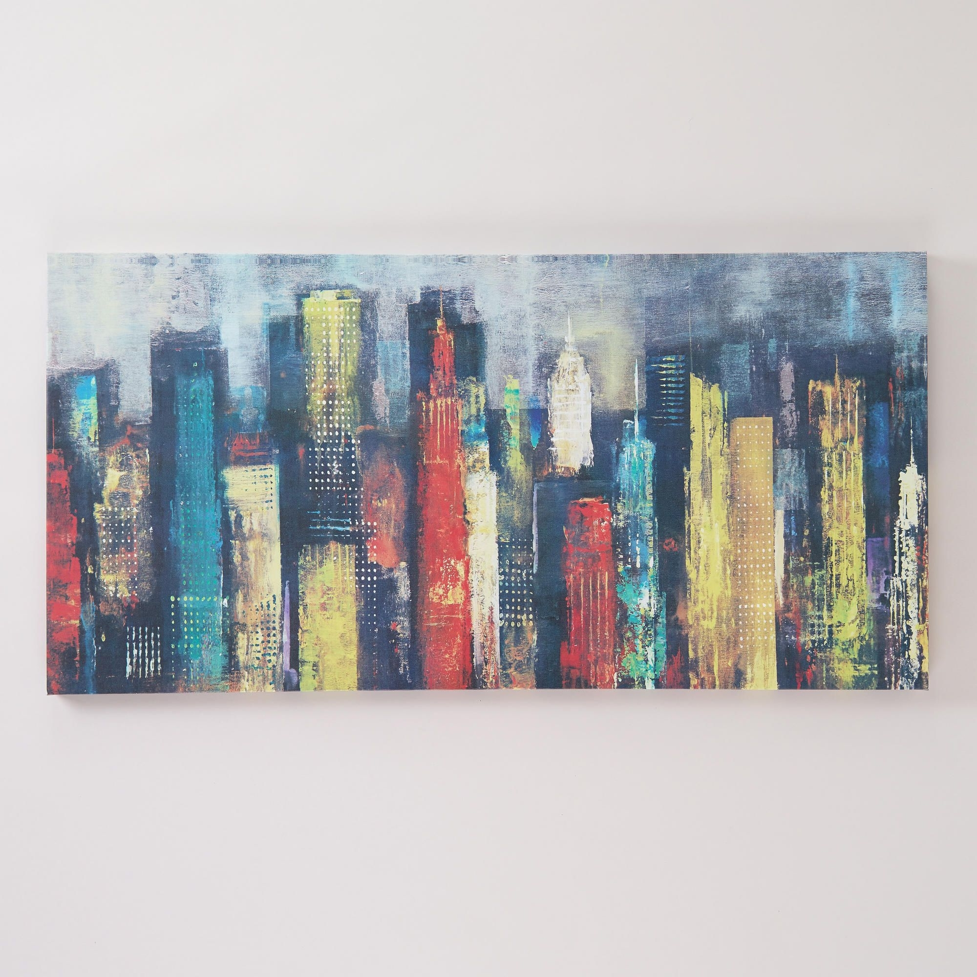 """Well Known World Market Wall Art Inside City Towers Ii""""georges Generali (View 14 of 15)"""