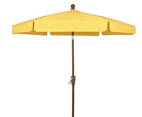 Well Known Yellow Patio Umbrellas In Amazon : Fiberbuilt Umbrellas Garden Umbrella,  (View 5 of 15)