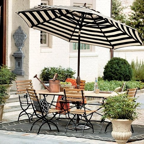 Well Liked Alluring Design For Striped Patio Umbrella Ideas 17 Best Ideas About Intended For Striped Patio Umbrellas (View 7 of 15)